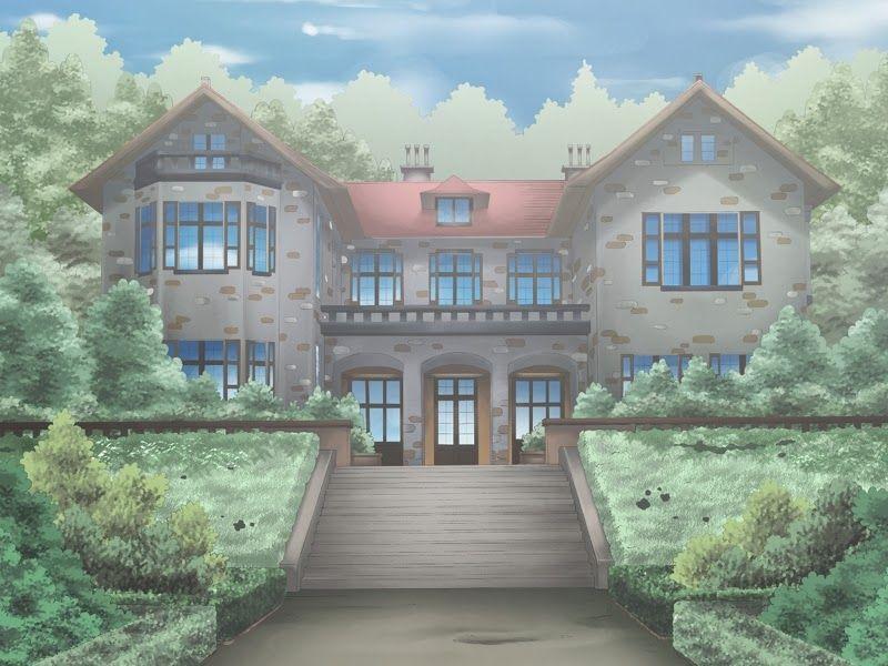 Картинки аниме особняка
